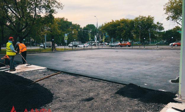 Укладка асфальта - Автомойка самообслуживания в Люблино - 5