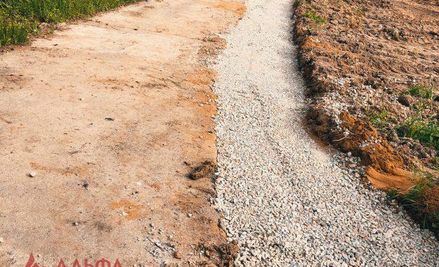 Укладка асфальта - Расширение проезжей части в Лызлово
