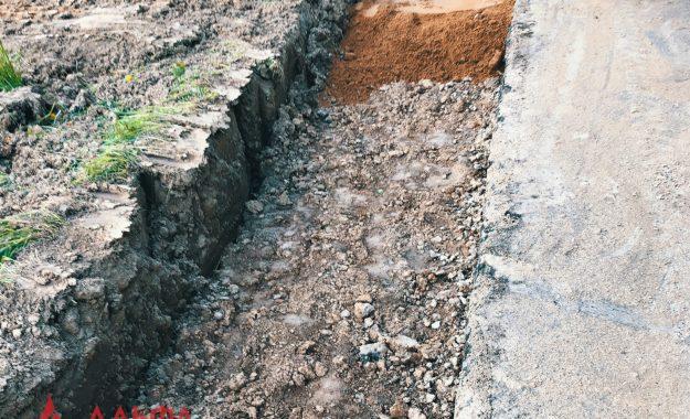 Укладка асфальта - Расширение проезжей части в Лызлово - 3