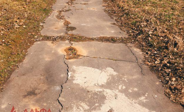 Укладка асфальта - Расширение проезжей части в Лызлово - 5