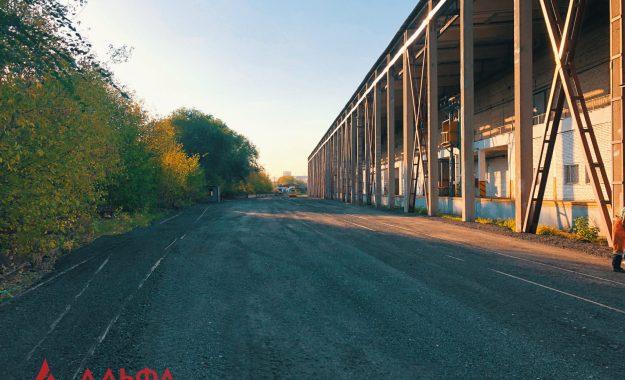 Укладка асфальтовой крошки - АО Мостранссклад 7000 кв.м. - 9