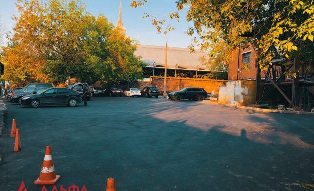 Укладка асфальта - Ресторан Магадан - 12