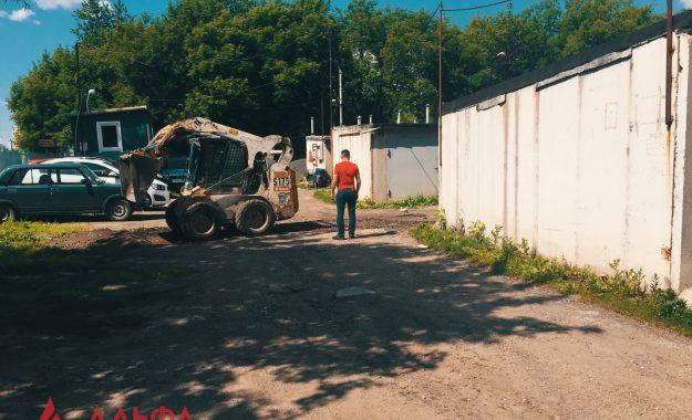 Укладка асфальта - ГК 51 в Люблино