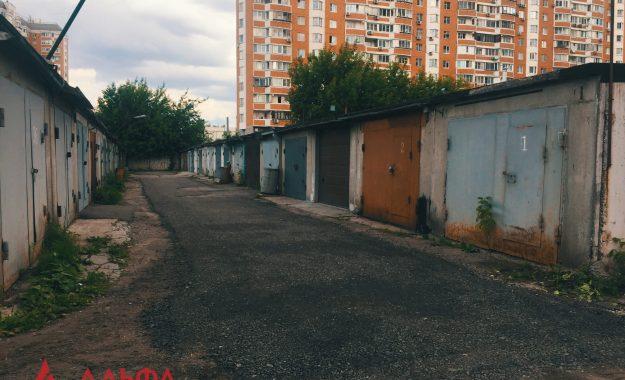 Укладка асфальта - ГК 51 в Люблино - 1