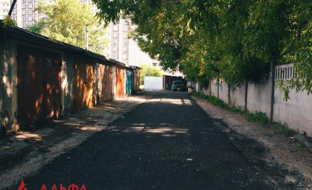 Укладка асфальта - ГК 51 в Люблино - 4