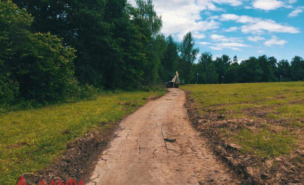 Укладка асфальта - Санаторий Медси Отрадное - 1