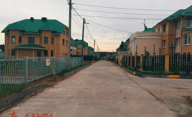 Укладка асфальта - Коттеджный поселок Химки