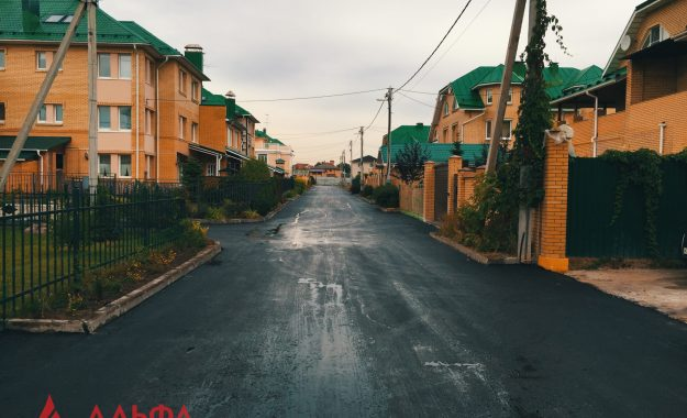 Укладка асфальта - Коттеджный поселок Химки - 3