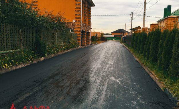 Укладка асфальта - Коттеджный поселок Химки - 4