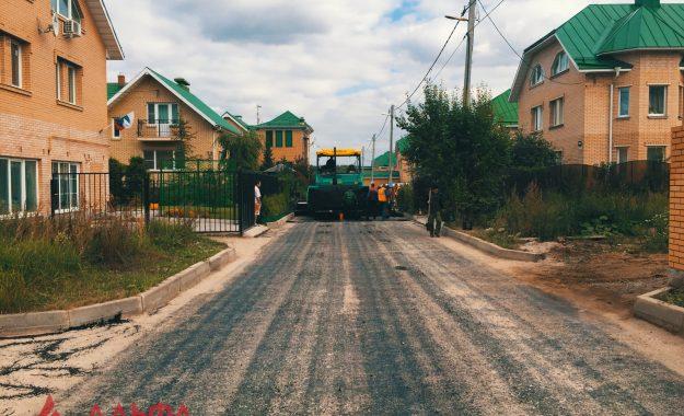 Укладка асфальта - Коттеджный поселок Химки - 6