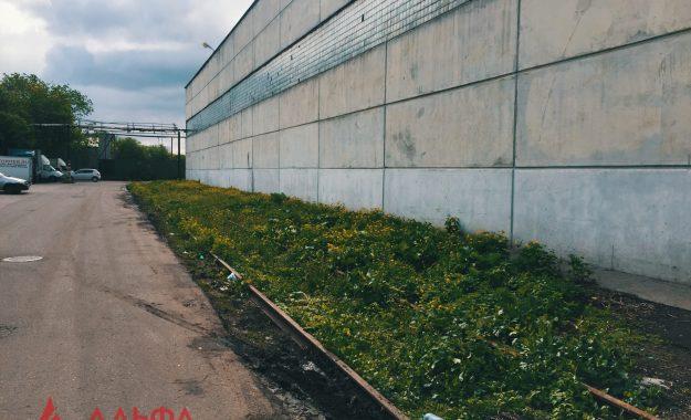 Укладка асфальтовой крошки - АО Мостранссклад 400 кв.м.