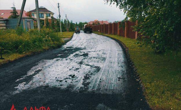 Укладка асфальта - КП ИмпериалЪ - 3