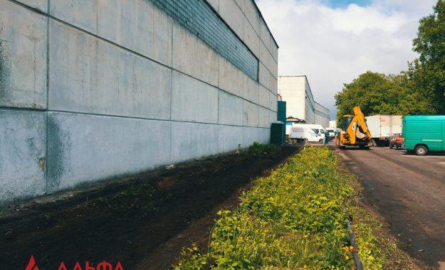 Укладка асфальтовой крошки - АО Мостранссклад 400 кв.м. - 1