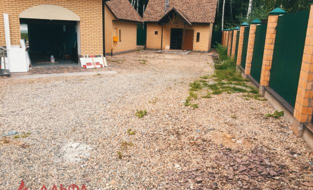 Укладка асфальта - Придомовая территория в КП Березовый парк