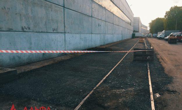 Укладка асфальтовой крошки - АО Мостранссклад 400 кв.м. - 6