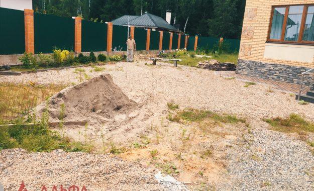 Укладка асфальта - Придомовая территория в КП Березовый парк - 1
