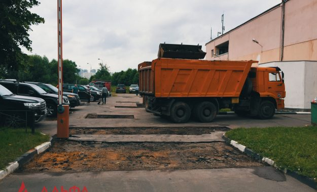 Ямочный ремонт - Многоуровневый паркинг - 2