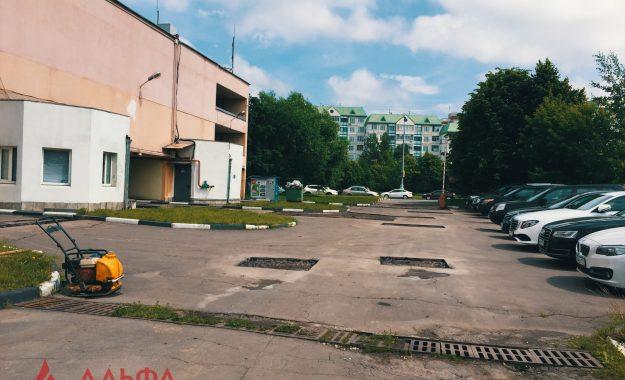 Ямочный ремонт - Многоуровневый паркинг - 3
