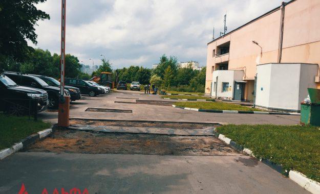 Ямочный ремонт - Многоуровневый паркинг - 4