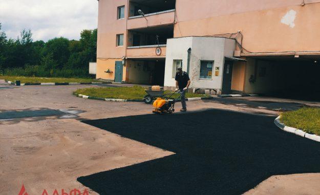 Ямочный ремонт - Многоуровневый паркинг - 6