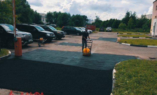 Ямочный ремонт - Многоуровневый паркинг - 7