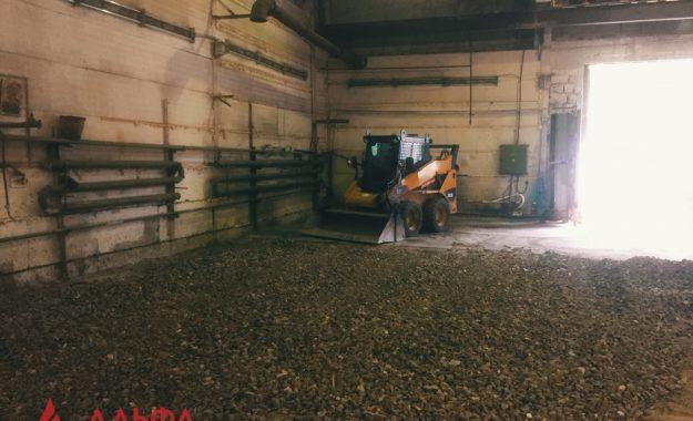 Укладка асфальта - Асфальтирование внутри склада