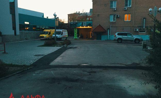 Укладка асфальта - Центральный дворец ледового спорта Москомспорта - 6