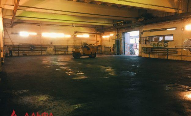 Укладка асфальта - Асфальтирование внутри склада - 6