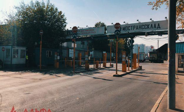 Укладка асфальта - Складская территория АО Мостранссклад и ПЭК - 4