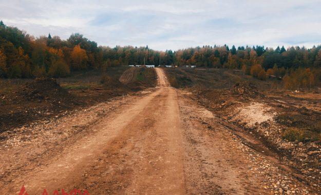Укладка асфальта - Коттеджный поселок Гаврилково - 1